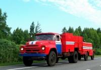 Автомобиль технической службы на шасси ЗиЛ-130* с прицепным компрессором. Беларусь, Витебская область, Сенненский район