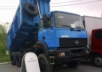Самосвал Урал-63685 на автовыставке. Тюмень, Севастопольская улица