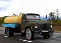 Молоковоз АЦПТ-3,3 на шасси ГАЗ-53-12 #АА 0833-6. Беларусь, Витебская область, Витебский район
