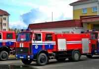 АЦ-5,0-50/4(5337) на шасси  МАЗ-5337А2 #АВ 7298-6. Беларусь, Могилёвская область, Белыничы