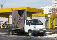 Рекламный автомобиль на шасси ГАЗ-3302 «ГАЗель». Алтайский край, Барнаул, Власихинская улица