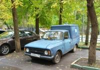 Фургон ИЖ-2715-01 #А 650 КХ 99. Москва, бульвар Матроса Железняка