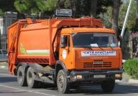 Мусоровоз МКЗ-4701-01 на шасси КамАЗ-65115 #С 583 ВА 123. Анапа, Крымская улица
