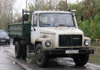 Самосвал ГАЗ-САЗ-4509 на шасси ГАЗ-4301 #Т 145 ВР 96 . Свердловская область, Тугулым, Школьная улица