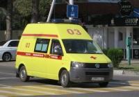 АСМП 22441С на шасси Volkswagen Transporter T5 #А 387 КС 123. Анапа, Крымская улица