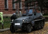 SdKfz 250. Калуга, улица Карла Маркса