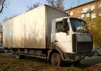 Фургон на шасси МАЗ-437141 #Р 182 УК 163. г. Самара, ул. Сергея Лазо