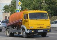 Ассенизационная машина КО-515А на шасси КамАЗ-4308 #Х 524 КВ 123. Анапа, Крестьянская улица