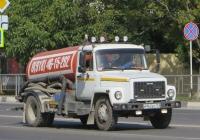Ассенизационная машина КО-503В-2 на шасси ГАЗ-3309 #М 962 ЕР 123. Анапа, Крестьянская улица