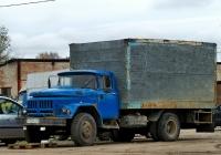 Фургон на шасси ЗиЛ-431412  #Р 105 НО 67. Россия, Смоленская область, Рославль