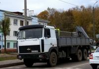 МАЗ-6303 с гидроманипулятором  #В 379 СА 98. Россия, Смоленская область,Рославль