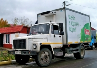 Фургон на шасси ГАЗ-3309  #АВ 0079-6. Беларусь, Могилёвская область, Хотимск