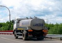 Автоцистерна на шасси МАЗ-5337А2 #АА 4923-6. Беларусь, Могилёвская область, Хотимск