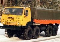 Бортовой грузовой автомобиль Урал-5323-20 . Место съёмки неизвестно