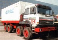 Бортовой грузовой автомобиль Урал-5323-22 . Место съёмки неизвестно