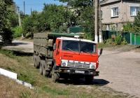 Седельный тягач КамАЗ-5410 с полуприцепом ОдАЗ-9370 #АХ 2337 ВТ. Харьковская область, село Сеньково