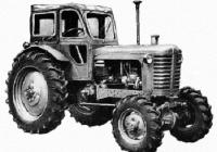 Трактор МТЗ-7М. Место съёмки неизвестно