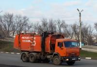 Мусоровоз КО-440-5 на шасси КамАЗ-65115  # М 731 МТ 31. Белгородская область, г. Алексеевка, ул. Тимирязева