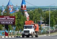 Мусоровоз КО-440-2 на шасси ГАЗ-3309  # Н 874 СН 31. Белгородская область, г. Алексеевка, пер. Острогожский