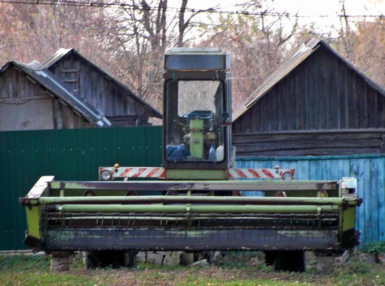 Косилка-плющилка валковая самоходная Fortschritt E-302. Россия, Брянская область, Суражский район