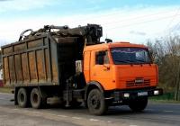Ломовоз с КМУ на шасси КамАЗ-53229  #К 723 НН 32. Россия, Брянская область, Сураж
