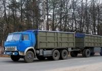 Автопоезд в составе КамАЗ-5320 с прицепом ГКБ-8352 #А 275 МС 32. Россия, Брянская область, Унеча