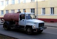 Асинезаторская цистерна КО-503В-2 на шасси ГАЗ-3309 #Х 953 ММ 32. Россия, Брянская область, Сураж