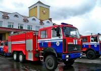 Автоцистерна пожарная АЦ-10,0-40(6317) на шасси МАЗ-6317X9 #АЕ 8275-6. Беларусь, Могилёвская область, Белыничы