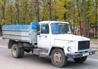 Самосвал ГАЗ-САЗ-3507-01 #Т 583 ЕН 67. Россия, Смоленская область, Рославль