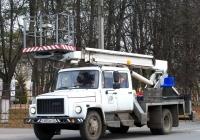 Автоподъёмник АПТ-17М на шасси ГАЗ-3309 #Р 855 РР 32. Россия, Брянская область, Унеча
