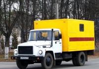 Автомастерская на шасси ГАЗ-3309 #О 942 КК 32. Россия, Брянская область, Унеча