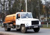 Вакуумная машина КО-503В-2 на шасси ГАЗ-3309 #О 933 ММ 32. Россия, Брянская область, Унеча