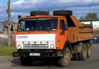 Самосвал КамАЗ-55111 #А 282 АС 67. Россия, Смоленская область, Рославль