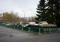 Группа исторических танков . Москва, улица Советской Армии (Центральный музей Вооружённых Сил Российской Федерации)