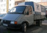 """Бортовой грузовой автомобиль ГАЗ-3302 """"Газель"""" #А 675 НЕ 72 . Тюмень, Ямская улица"""