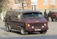 Микроавтобус Dodge Ram Van 200 #H 782 KУ 45. Курган, улица Гоголя