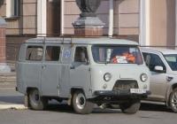 Микроавтобус УАЗ-39625 #T 455 BE 45. Курган, улица Гоголя