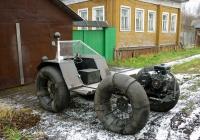 Самодельное транспортное средство. Россия, Архангельская область, Архангельск, Мирная улица
