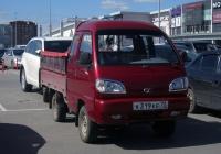 """Бортовой грузовой автомобиль FAW CA1011 #К 319 КЕ 72 . Тюмень, парковка ТРЦ """"Кристалл"""""""
