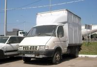 """Фургон на шасси ГАЗ-3302 """"Газель"""" #М 671 ОМ 72 . Тюмень, Московский тракт"""