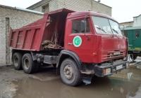 Самосвал КамАЗ-65115 #У 566 РМ 163. г. Самара, ул. Больничная