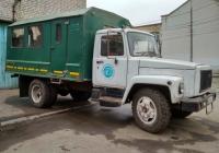 вахтовка на шасси ГАЗ-3307 #о081тв163. г. Самара, ул. Больничная