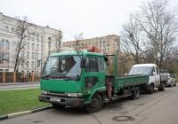 Бортовой грузовой автомобиль Nissan Diesel с КМУ #Р 561 АО 777. Москва, Михалковская улица