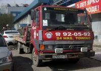 Эвакуатор на шасси Tata LPT613 #Н 700 НР 72 . Тюмень, улица 50 лет ВЛКСМ