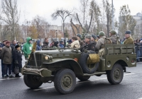 Грузовой автомобиль Dodge WC-51. г. Самара, площадь Куйбышева