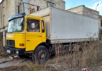 фургон на шасси MAN M90 14.192 #С 368 УВ 197. г. Самара, ул. М. Горького