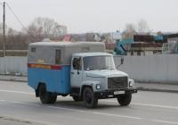 Электроизмерительная станция ППУ-1 на шасси ГАЗ-3307 #А 003 КК 45. Курган, улица Климова