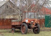 Самоходное шасси Т-16МГ # 6129 ЕК 31. Белгородская область, Алексеевский район, с. Кущино