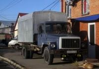 Фургон на шасси ГАЗ-3307 #Е 450 УУ 72 . Тюмень, улица Федюнинского