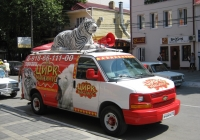 Фургон Chevrolet Express G2500 #В 444 РЕ 15. Анапа, улица Максима Горького